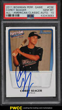 2011 Bowman Perfect Game All-American Corey Seager ROOKIE RC AUTO PSA 10 (PWCC)