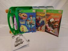 Leapfrog Tag Reading System Touch Talking Words Children's Education 3 Books +