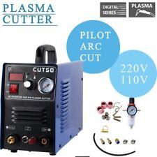 Plasma Cutter Pilot Arc 50 Amp Dual Voltage 110/220V CNC Compatible