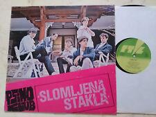 SLOMLJENA STAKLA Psiho Klub *80s YUGO - POP - WAVE*