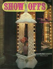 Show Offs Macrame Vintage Pattern Instruction Book 1978 NEW 20 Projects