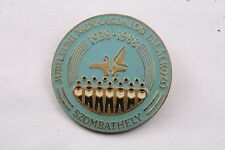 Hungary 1988 Szombathely Workers Songs Jubilee 50 Year Reunion Medal Badge
