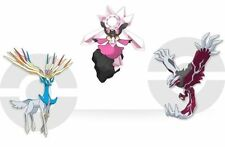 SHINY 6IV Diancie Yveltal Xerneas Event POKEMON Moon, Sun, Alpha & Omega X-Y 3DS