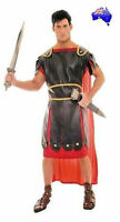 Mens Adult Roman Centurion Soldier Warrior Rome Gladiator Fancy Dress Costume