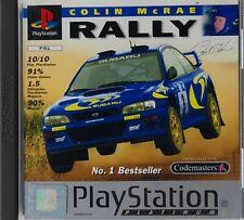 Colin McRae Rally - Platinum - (Sony PlayStation 1, 1998) - Komplett!