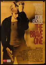 The Brave One (2007) Australian One Sheet JODIE FOSTER