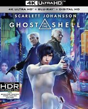 GHOST IN THE SHELL(4K ULTRA HD+BLU-RAY+DIGITAL HD)W/SLIP COVER BRAND NEW