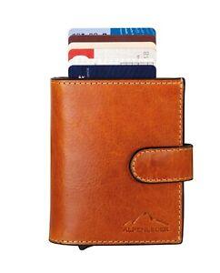 Mini Wallet, Alpenleder Card Lift 100