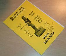 Terry Pratchett SIGNED Memorabilia Discworld Collectors Guild Event programme