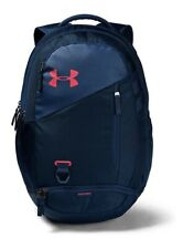 Under Armour 1342651 UA Hustle 4.0 Storm Backpack School Laptop Book Bag Blue (2