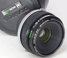 OLYMPUS OM Macro 80mm F4 + Case