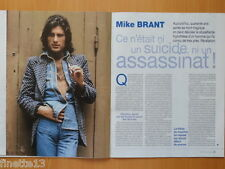 MIKE BRANT Coupure de presse 8 pages 2015 – French clippings