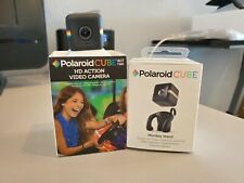 Polaroid Cube Act Two Black With Monkey Stand