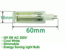Dimmable G9 LED Light Bulb For Home Lighting Chandelier Ceiling - COOL WHITE