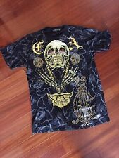 Christian Audigier T Shirt- Charmed Life- Skull
