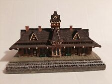 Danbury Mint Historic Collectable Rr Stations, The Tenafly Railroad Station