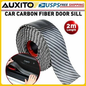2M Protector Sill Scuff Car Auto Door Plate Anti-Sticker Scratch Bumper Strip