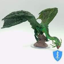 Jabberwock - Darklands Rising #49 Pathfinder Battles D&D Huge Green Dragon Mini