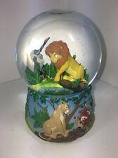 Lion King Circle Of Life Snow Globe Vintage