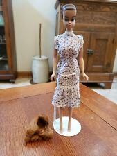Vintage 1962 Midge 1958 Barbie Mattel Inc Patented Fashion Queen Doll Red Wig