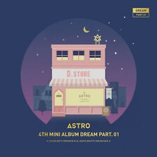 ASTRO  DREAM PART.01 (4TH MINI ALBUM)CD+PHOTOCARD  [NIGHT VER]