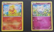 CARTE TORCHIC 2/12 & TOGEPI 9/12PROMOZIONE MCDONALD MAC 2014 HOLO POKEMON RARA