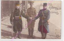 CPA PATRIOTIQUE MILITARIA Les frères d'armes ca 1914