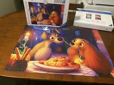 Ravensburger 1000 Piece Jigsaw. 'Lady & The Tramp' Disney. Collectors Edition