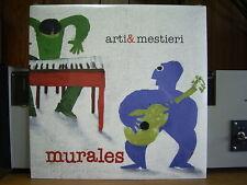 ARTI & MESTIERI - MURALES Italy prog VINYL LP Still Sealed SS