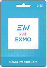 EX-CODE | KOD EXMO | USD 2.5$ | TOP SPRZEDAWCA | SZYBKA WYSYŁKA !