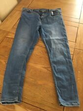 Womens Jeans Size 16 L28 By M&S Light Indigo The Carrie Skinny Jeans