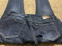 MAURICES BOOTCUT WOMENS DESIGNER JEANS SIZE 6