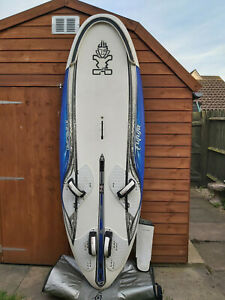 Windsurfing Board Starboard Futura 141 80cm wide with fin and bag