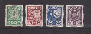 Estonia. 1937 Caritas used (7787)
