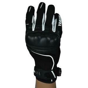 Motorbike Yamaha Gloves Men Motorcycle Summer Riding Short CE Leather Clearance
