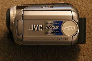 JVC GZ-MG21EK Everio G Series HDD Hard Disc Camcorder. Colour Silver.