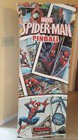 "New  Spiderman VE Original STERN Factory Pinball Banner -  24"" x 62"" - Beautiful"
