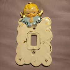 Vintage Angel Switch Plate