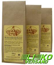 Schwedenkräuter Schwedenbitter klein 3x 100 g mit Safran versandfrei