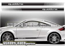 AUDI TT 007 Strisce Da Corsa Decalcomanie Adesivi Grafica RS Quattro Sport