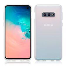 Samsung Galaxy S10e TPU Gel Silicone Rubber Thin Slim Cover Case in Clear