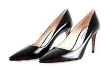 AUTHENTIC LUXURY PRADA PUMPS SHOES 1I615D BLACK NEW 41 41,5 UK 8