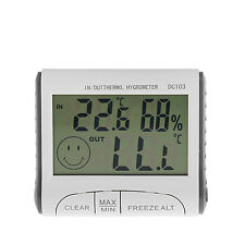 Digital LCD Thermometer Hygrometer Indoor Outdoor Temperature Air Humidity Meter