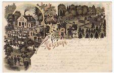 Lithographien vor 1914 aus Niedersachsen
