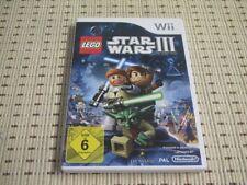 Lego Star Wars III The Clone Wars para Nintendo Wii y Wii U * embalaje original *