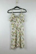 Women's Atmospere Cream Floral Camisole Summer Dress Size UK 8