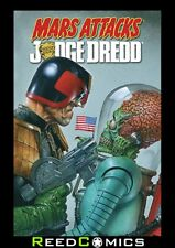 MARS ATTACKS JUDGE DREDD GRAPHIC NOVEL New Paperback Collects 4 Part Series