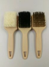 "3 Combo Pack 9"" Tire Brush with Handle for Auto Bicycle Tire Whitewall/Sidewall"
