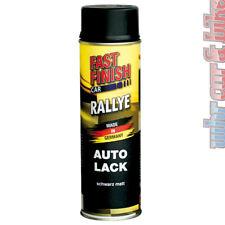 500ml Fast Finish 292828 Rallye Lack Autolack Spraydose schwarz matt