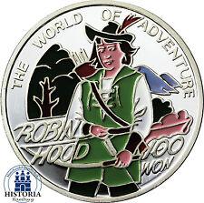 Corea 100 won 1996 plata pp el mundo de la aventura: Robin Hood